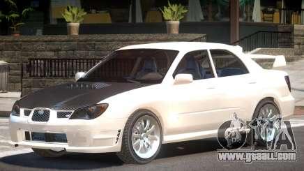 Subaru Impreza WRX ST for GTA 4