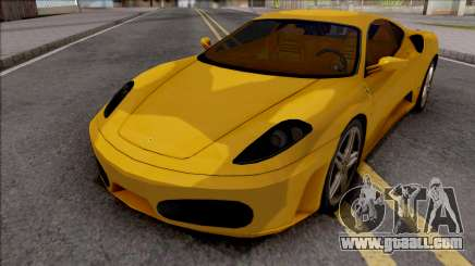 Ferrari F430 Low Poly for GTA San Andreas