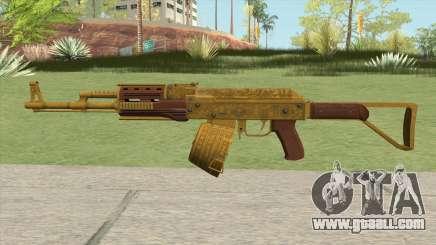 Shrewsbury Assault Rifle GTA V (Box Clip) for GTA San Andreas