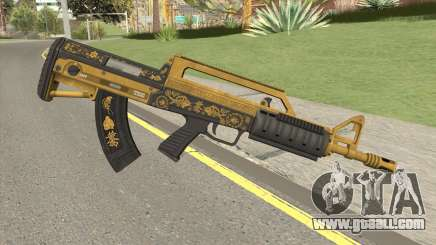 Bullpup Rifle (Base V1) Main Tint GTA V for GTA San Andreas