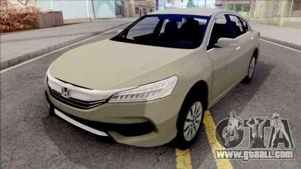 Honda Accord 2017 SA Style for GTA San Andreas