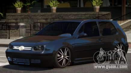 Volkswagen Golf 4 Tuned for GTA 4