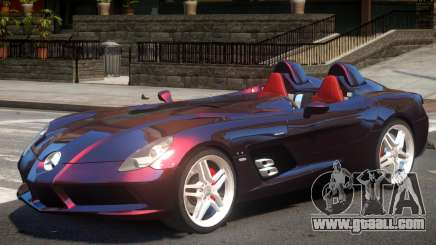 Mercedes-Benz SLR Stirling Moss for GTA 4