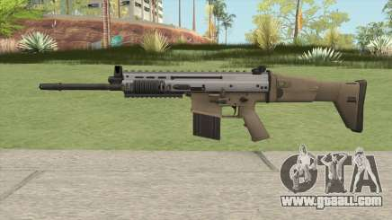 SCAR-H (Arctic Combat) for GTA San Andreas