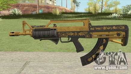 Bullpup Rifle (Two Upgrades V2) Main Tint GTA V for GTA San Andreas