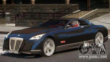 Maybach Exelero V1 for GTA 4