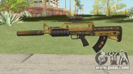 Bullpup Rifle (Three Upgrade V5) Main Tint GTA V for GTA San Andreas