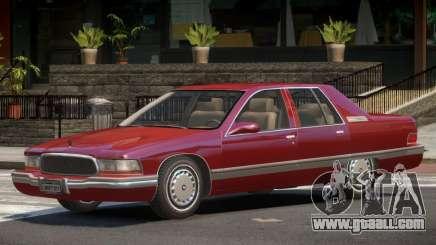 Buick Roadmaster V1.1 for GTA 4