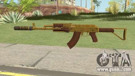 Assault Rifle GTA V Suppressor (Default Clip) for GTA San Andreas