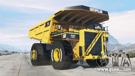 Caterpillar 797 for GTA 5