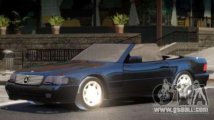 Mercedes SL500 V1.0 for GTA 4
