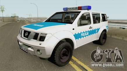 Nissan Pathfinder (Policja KMP Biala Podlaska) for GTA San Andreas