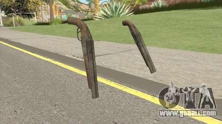 Double Barrel Shotgun GTA V (Platinum) for GTA San Andreas