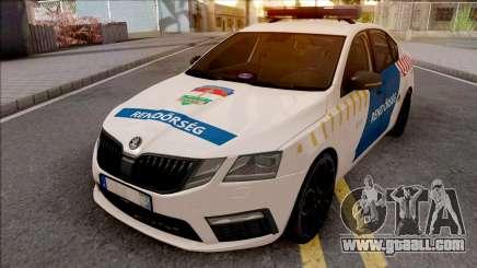 Skoda Octavia 2017 Magyar Rendorseg for GTA San Andreas