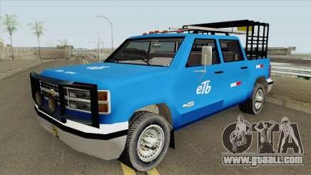 Chevrolet Silverado (SA Style) for GTA San Andreas