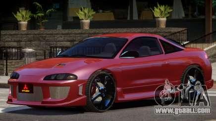 Mitsubishi Eclipse Custom for GTA 4