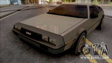 DeLorean DMC-12 1981 Grey for GTA San Andreas