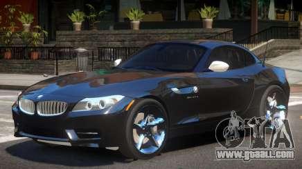 2011 BMW Z4 for GTA 4