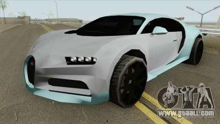 Bugatti Chiron Sport 110 Ans (SA Style) 2019 for GTA San Andreas