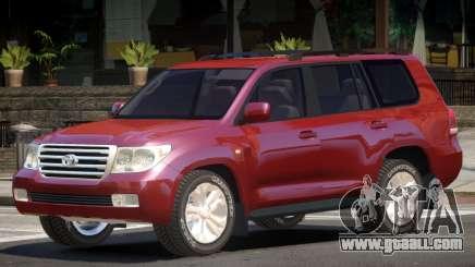 Toyota Land Cruiser 200 V1.1 for GTA 4