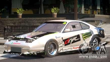 Nissan S330SX V1 PJ for GTA 4