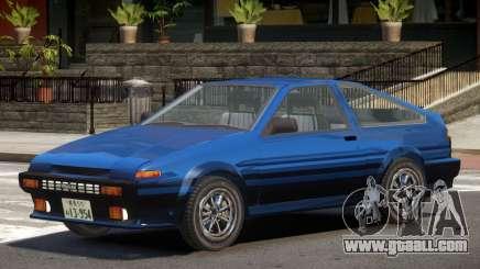 1986 Toyota Sprinter V1.1 for GTA 4