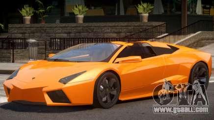 Lambo Reventon V1 for GTA 4