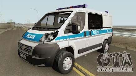 Fiat Ducato (Policja KSP) for GTA San Andreas