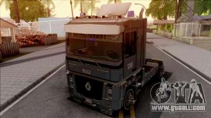 Renault Magnum Grey for GTA San Andreas