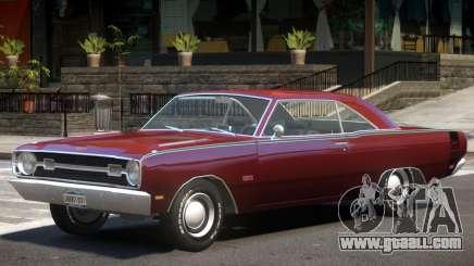 1969 Dodge Dart V1 for GTA 4