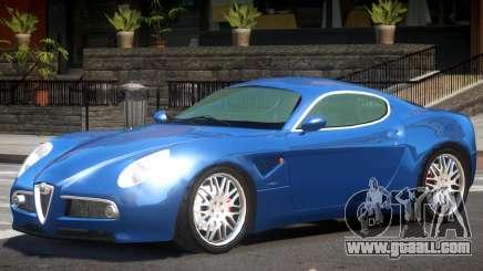 Alfa Romeo 8C GT for GTA 4
