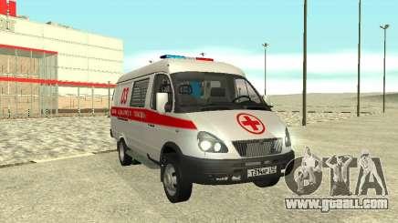 GAZ 3302 Emergency for GTA San Andreas