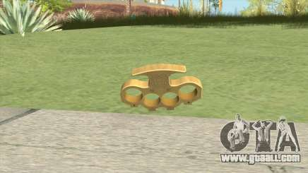 Knuckle Dusters (The King) GTA V for GTA San Andreas