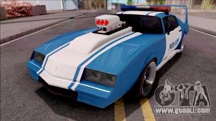 GTA V Imponte Phoenix Custom Police for GTA San Andreas
