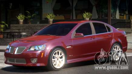 Pontiac G8 GXP V2.1 for GTA 4