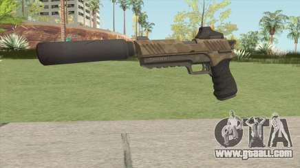 Silenced Pistol (Fortnite) HQ for GTA San Andreas