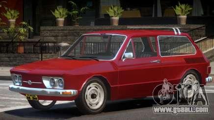 Volkswagen Brasilia V1.0 for GTA 4