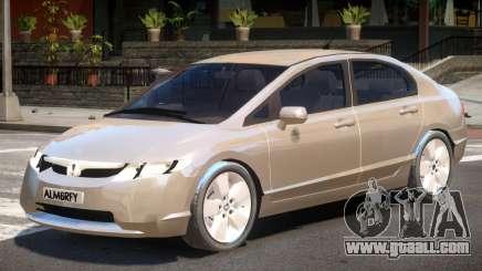 Honda Civic Y7 for GTA 4