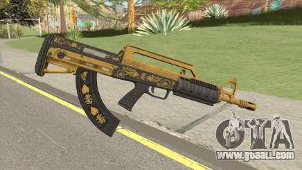 Bullpup Rifle (Base V2) Main Tint GTA V for GTA San Andreas