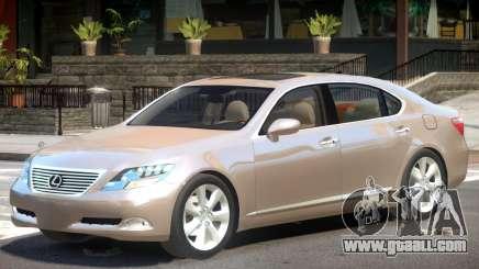 Lexus LS600 V1 for GTA 4