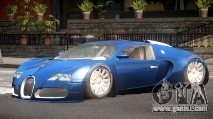 Bugatti Veyron GT for GTA 4