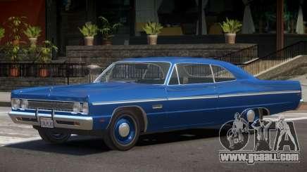 1968 Plymouth Fury for GTA 4