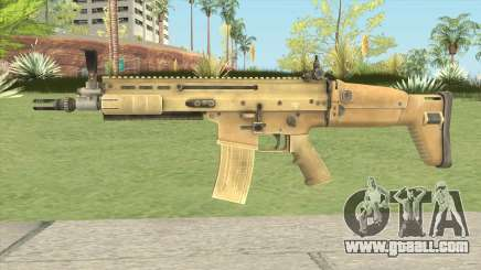 SCAR-L (Contagion) for GTA San Andreas