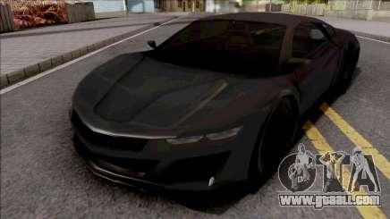 Acura NSX 2017 Lowpoly for GTA San Andreas