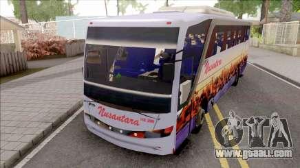 Nusantara Bus Setra Adi Putro Smile Lamp for GTA San Andreas
