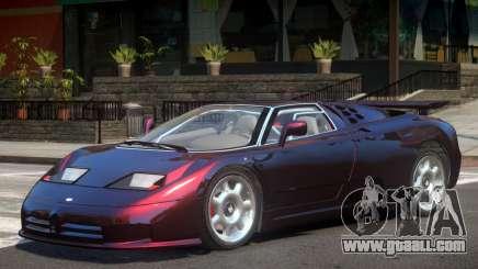 Bugatti EB110 V1 for GTA 4