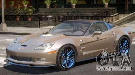 Chevrolet Corvette ZR1 V1.0 for GTA 4