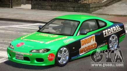 Nissan Silvia S15 V1.1 PJ1 for GTA 4