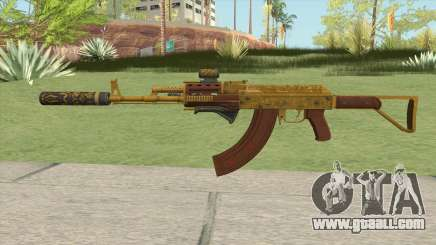 Assault Rifle GTA V (Complete Upgrade V2) for GTA San Andreas