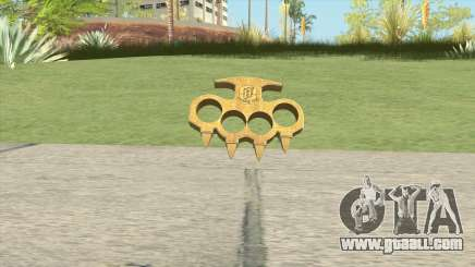 Knuckle Dusters (The Ballas) GTA V for GTA San Andreas